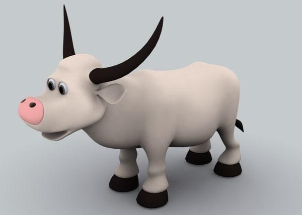 Bull 3D Models