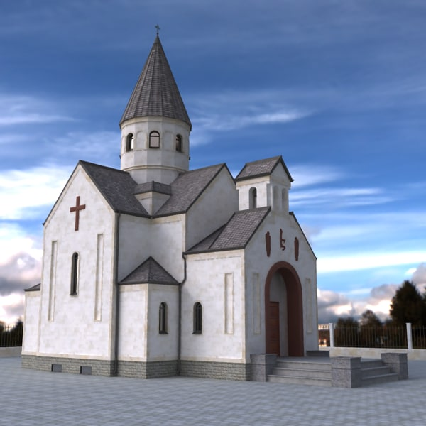Armenian Church Texture Maps