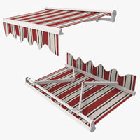 awning 3D models