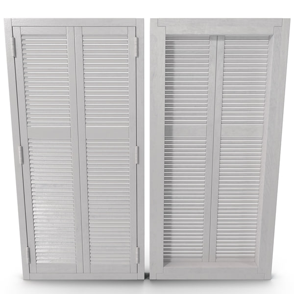 Window Shutter 2 3D Models