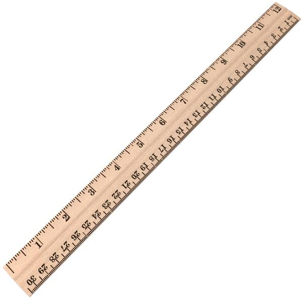 Wood Ruler 3D Models