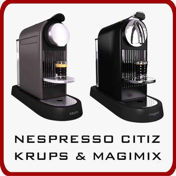stl finder 3d models for nespresso inissia milk magimix krups. Black Bedroom Furniture Sets. Home Design Ideas