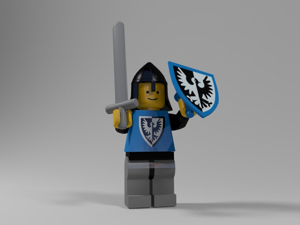 Medieval lego character 2