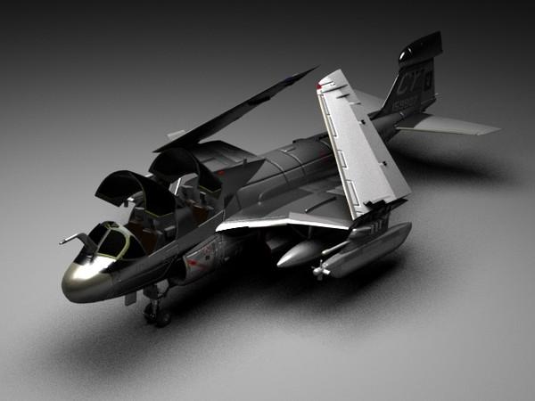 Grumman EA-6B Prowler 3D Models