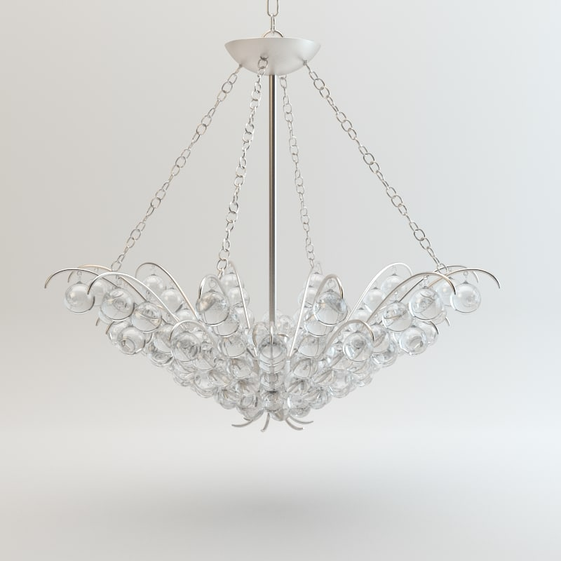 Currey and Company - Quantum Chandelier Lighting