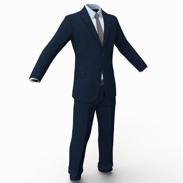 Suit 2 3D Models