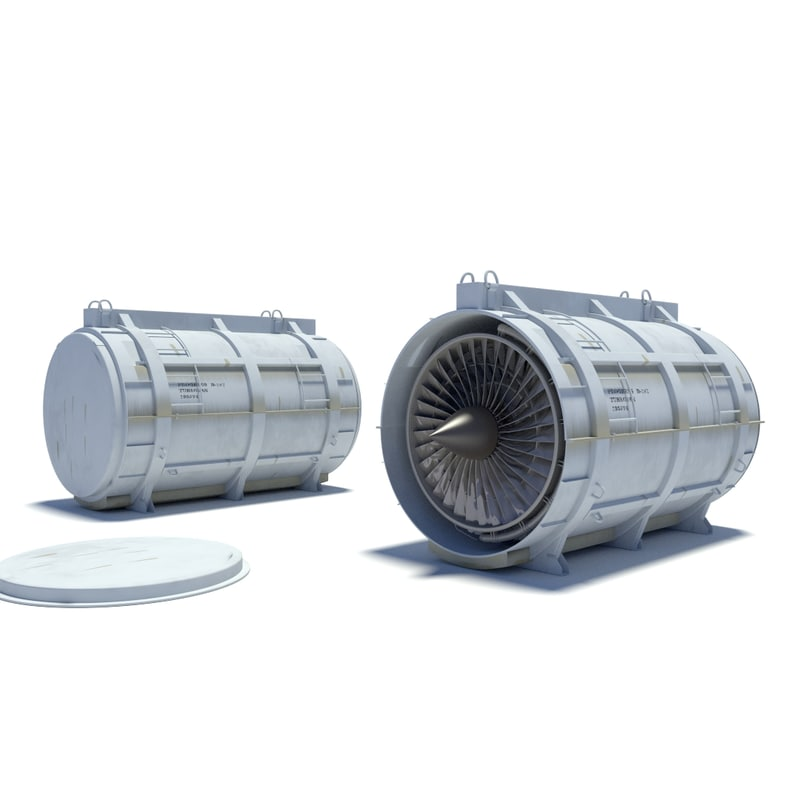 turbofan container