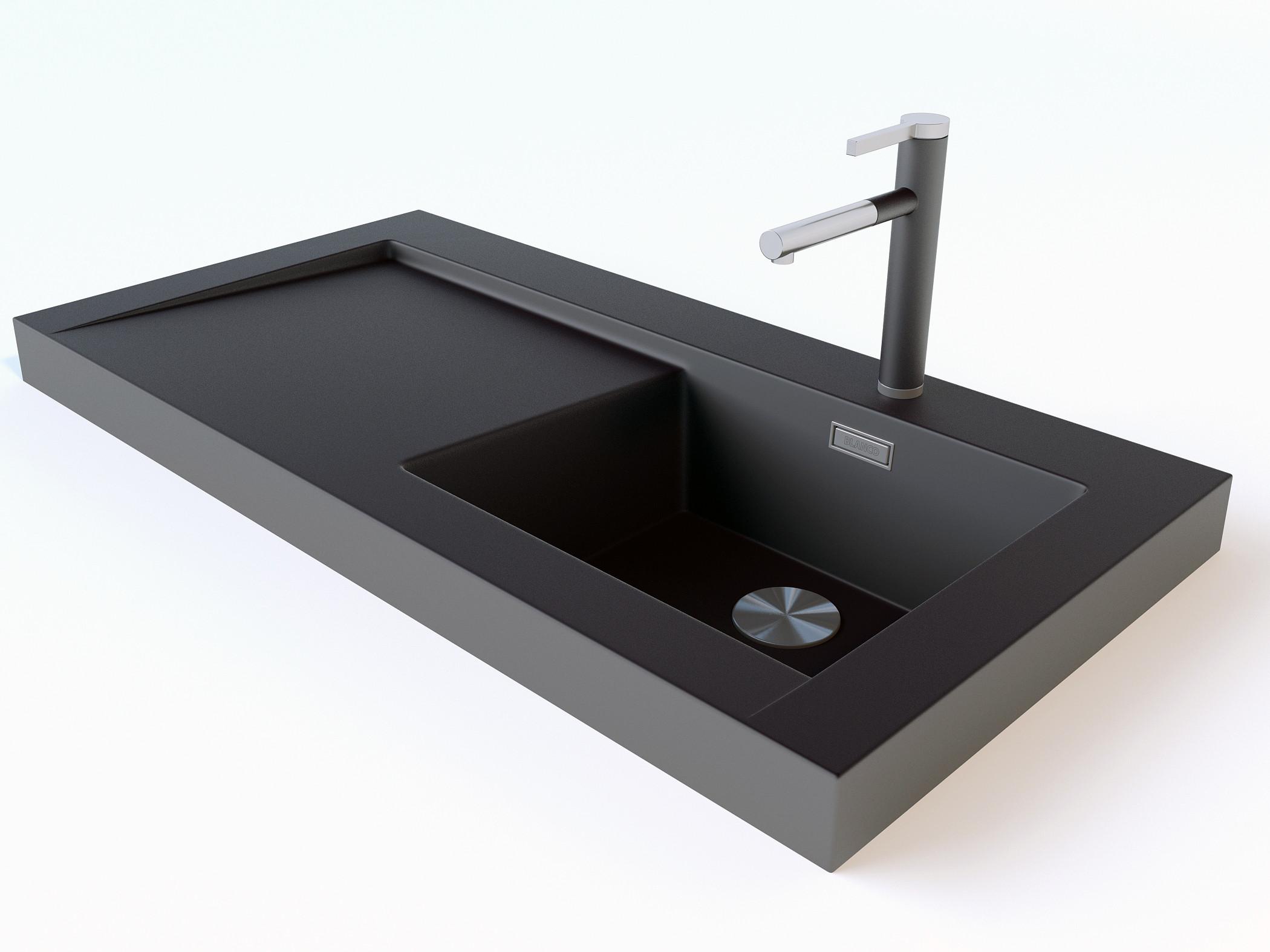 Blanco Sink Mats : Blanco Modex M60+Linee-S