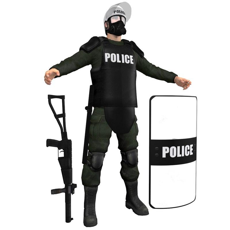 Riot Police H2