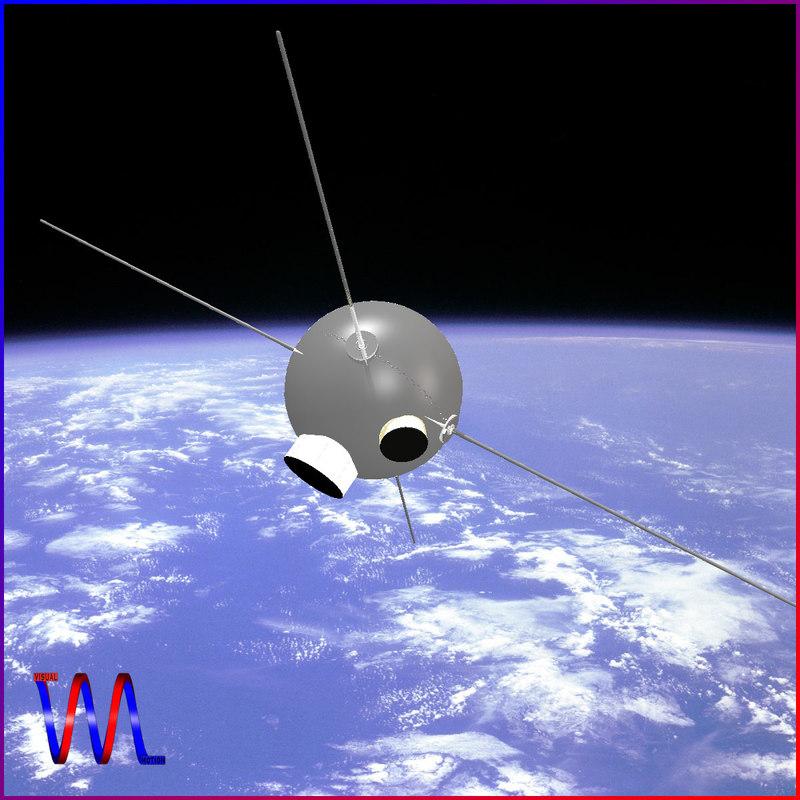 Vanguard II Satellite