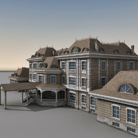 mansion 3D models