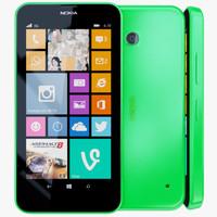 nokia lumia 630 3D models
