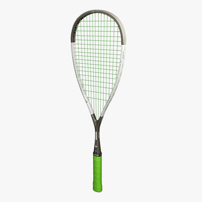 oliver squash racket