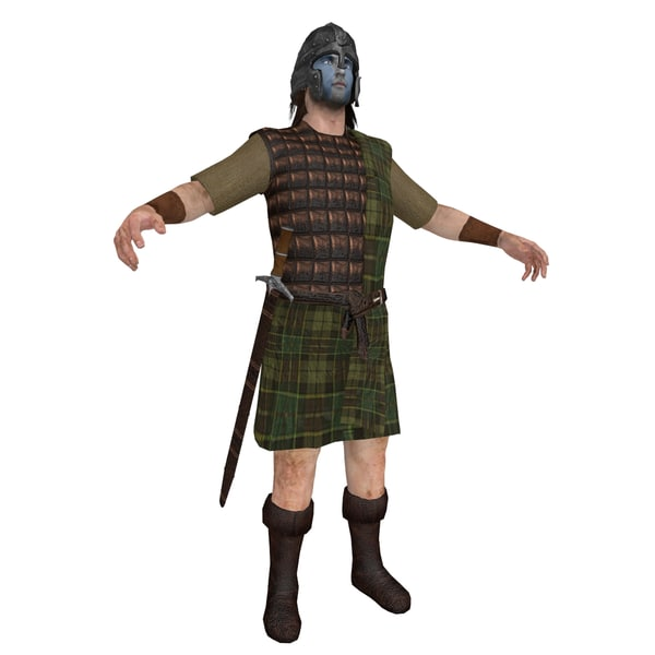 William Wallace 3D Models