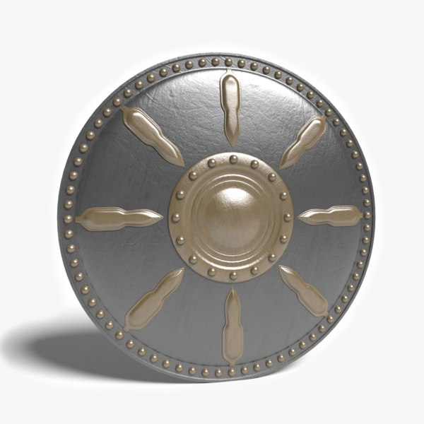 Gladiator Shield 3D Models