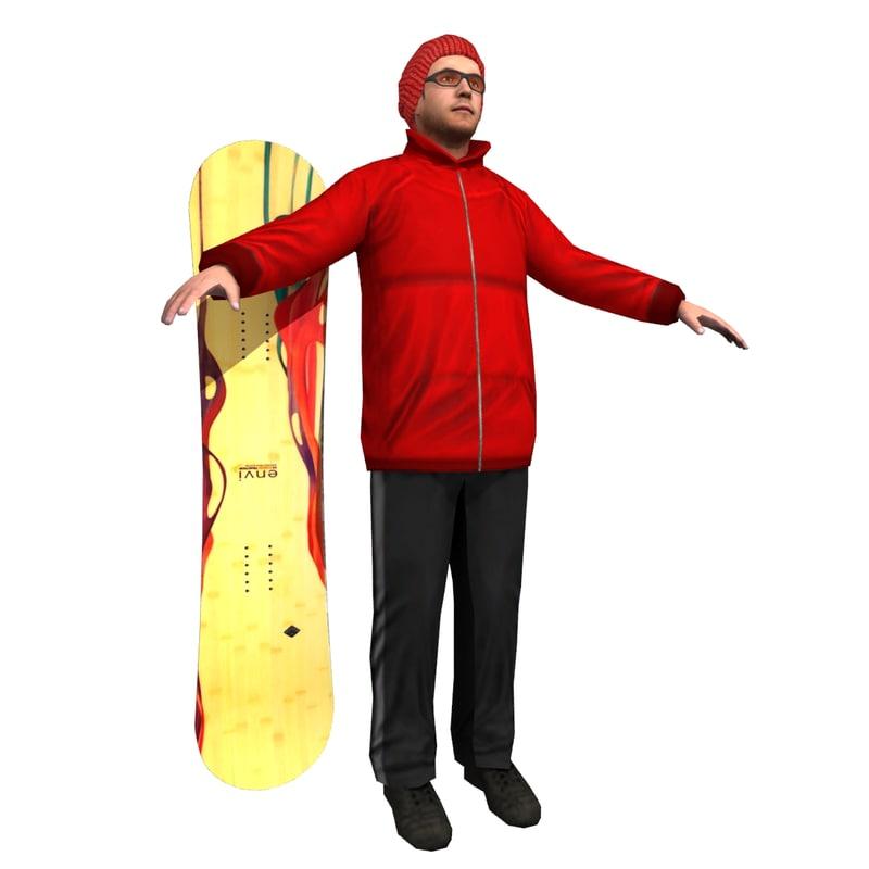 Snowboarder LP