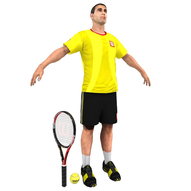 Tennis Player V4