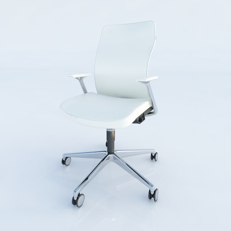3d model allsteel acuity chair