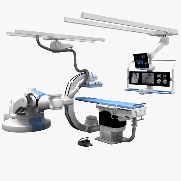 Artis Angiography System 3D Models