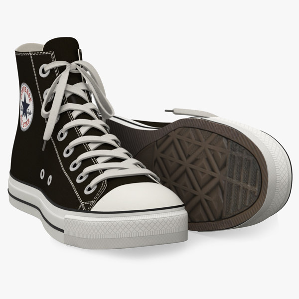 Converse All Star Sneakers 3D Models