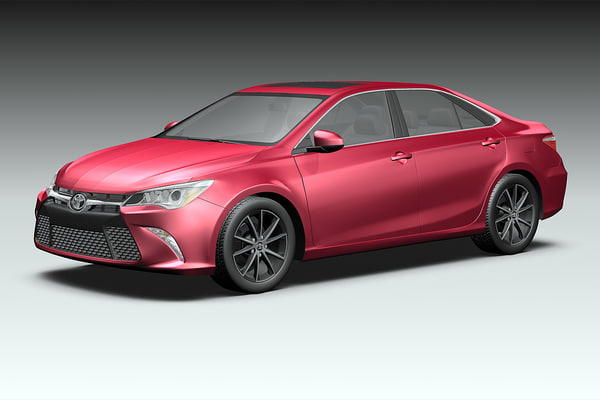 2015 Toyota Camry 3D Models