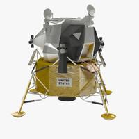 Lander 3D models