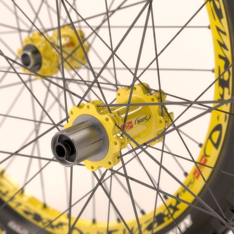 Mavic DeeMax Wheelset