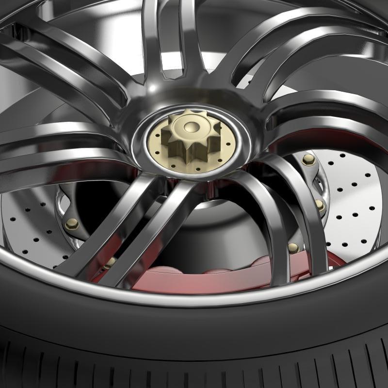 Pagani Huayra wheel