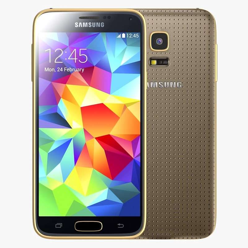 Samsung Galaxy S5 mini Copper Gold