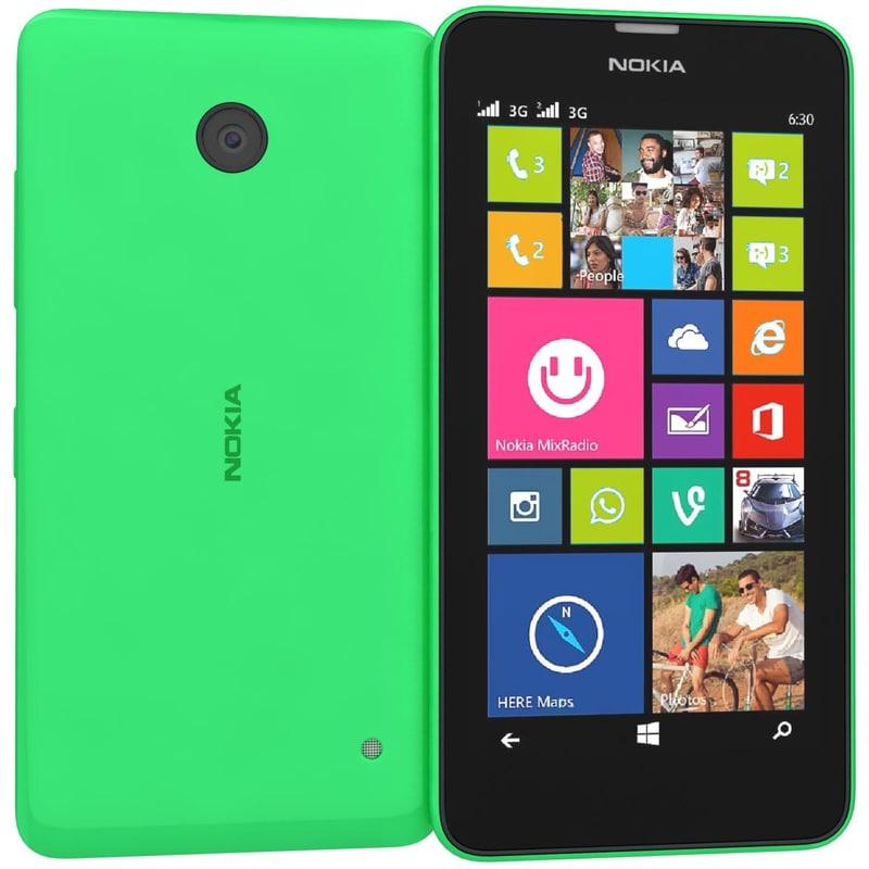 Nokia Lumia 630 635 Dual SIM Bright Green