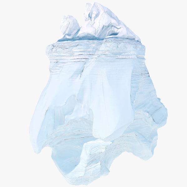 Iceberg 2 3D Models