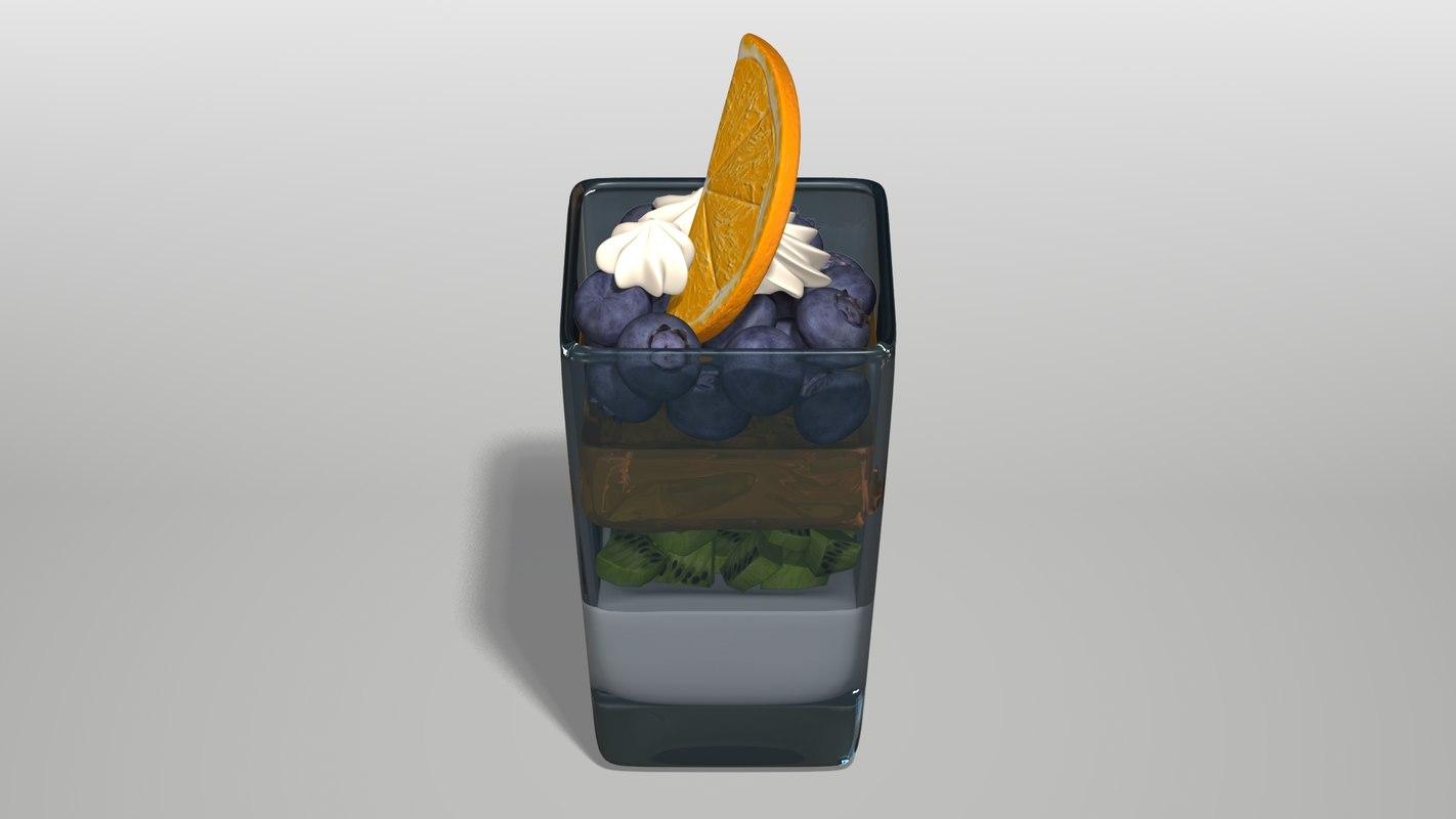 Mini Dessert Parfait Cup