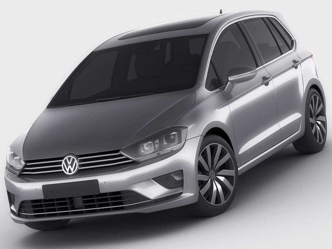 3d model of golf sportsvan sport. Black Bedroom Furniture Sets. Home Design Ideas