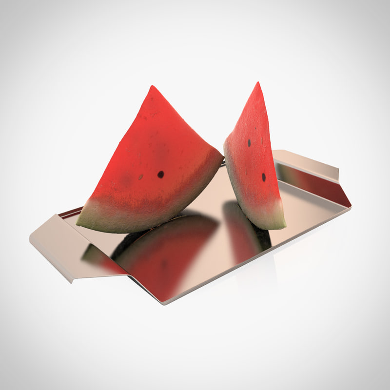 3ds max water melon