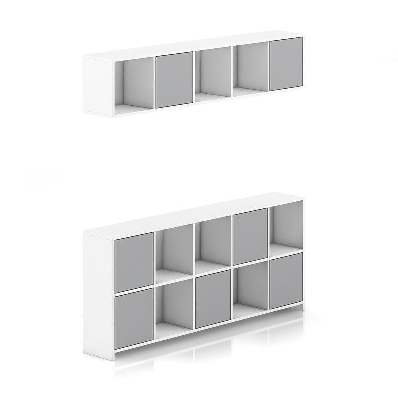Standing and Handing Shelves