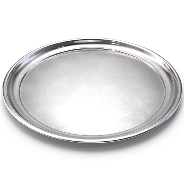 Steel Round Tray 3D Models