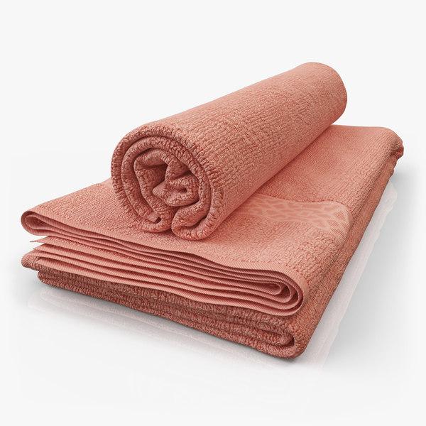 Towel-m02 3D Models