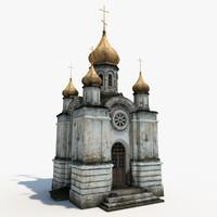 church 3d models