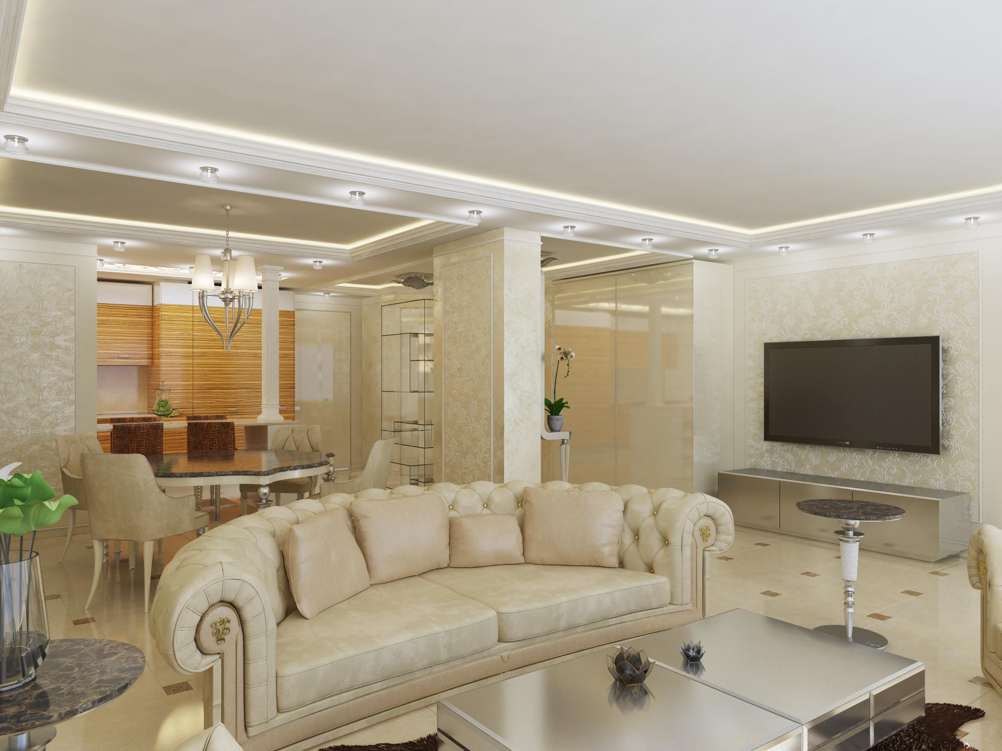 interior modern apartment