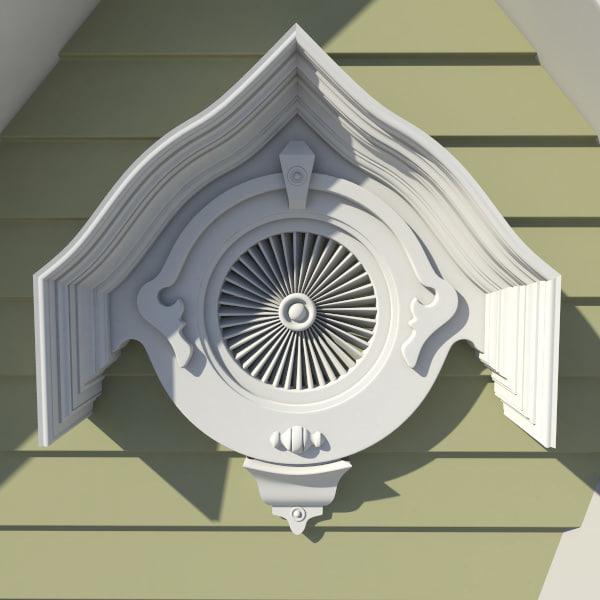 Decorative Roof Gable Vents