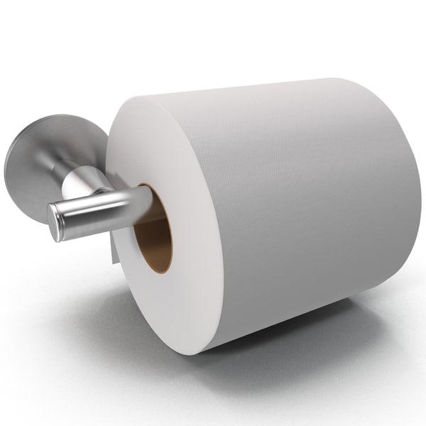 Toilet Paper Holder 3D Models