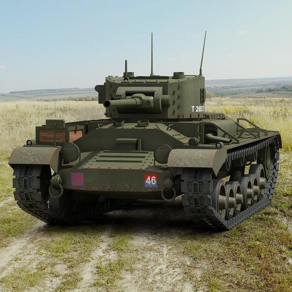 Valentine Tank 3D Models