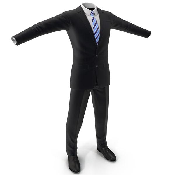 Men Suit 6 3D Models