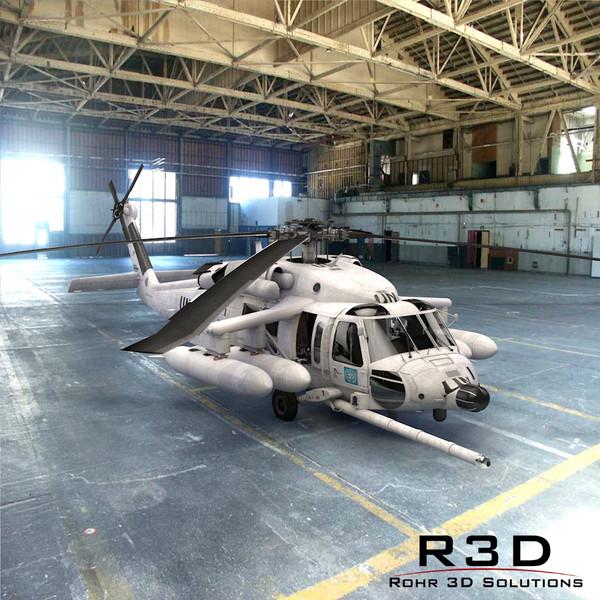 SH-60 SOAR United Nations 3D Models