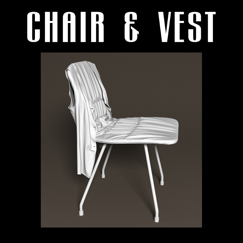 Chair with vest