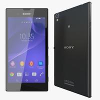 Sony Xperia T3 3D models