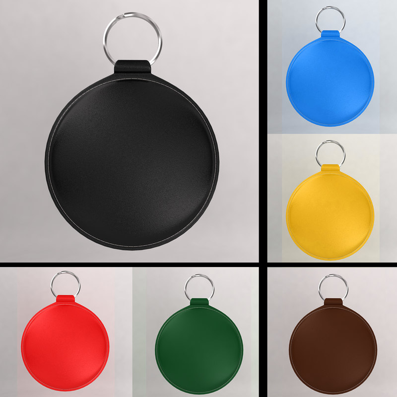 3d keychain color model
