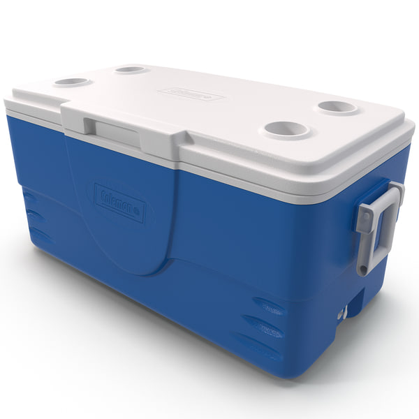Ice Chest Coleman 3D Models