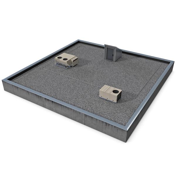 Rooftop 3D Models