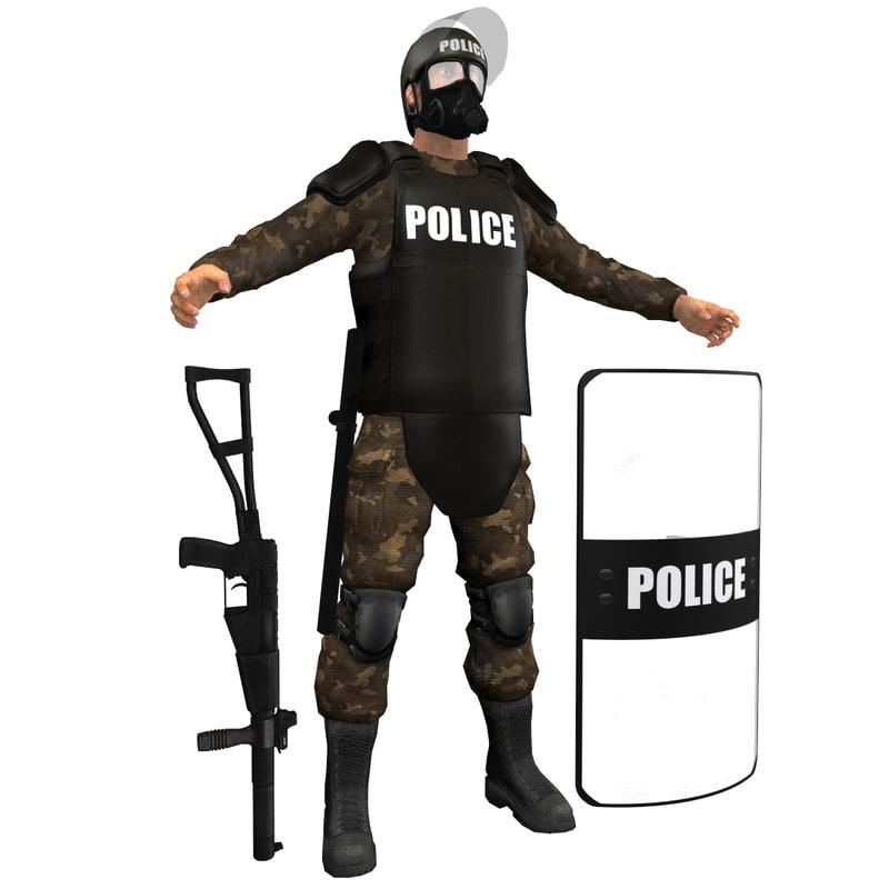 Riot Police H6